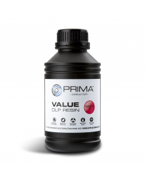 PrimaCreator Value UV / DLP Resin - 500 ml - Transparent Red