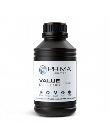 PrimaCreator Value UV / DLP Resin - 500 ml - Clear