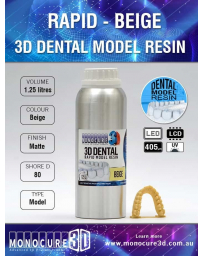 RAPID MODEL DENTAL RESIN - BEIGE (1.25LTR)