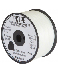 Taulman PCTPE Filament - 2.85 mm - 450 g - Clear