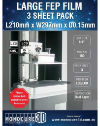XL FEP FILM 150 Micron (3 Sheet Pack)