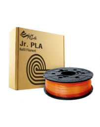 da Vinci Junior PLA Filament Clear Tangerine